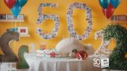 BBC Two NI 50 Cake ident
