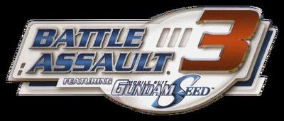 Battle Assault 3 Featuring Mobile Suit Gundam Seed Logo