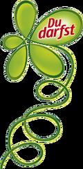 Du Darfst logo tall