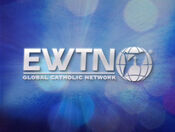 EWTN livestream on-screen logo