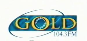 GOLD104point3 90s Logo