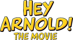 Hey Arnold movie transparent logo