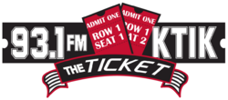 KTIK 93.1 FM The Ticket