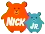 Nick Jr Bears logo 2006