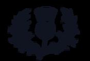 Scottish Rugby vintage logo 3