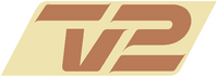TV2 Denmark logo 1993