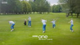 BBC One NI The Open 2019 ident