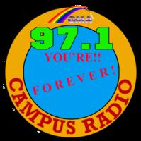 Campus Radio 97.1 Laoag Logo 1992