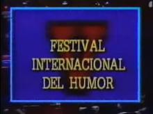 Festival Internacional del Humor 1988 logo