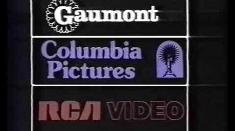 Gaumont Columbia RCA Video (Première Logo) (France)