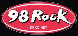 KRXQ 98.5 98 Rock