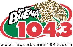 La Que Buena 104.3 KLQB