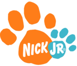 Nick Jr. logo used for Blue's Clues