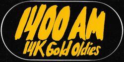 WGKT 1400 AM 14K Gold Oldies