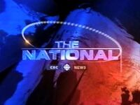 CBC-TV's CBC News' The National Video Open From Early 2001