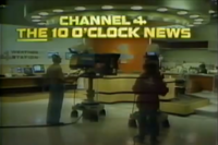 KDFW Channel 4 News 10PM open - 1982