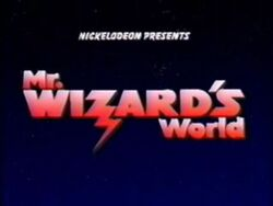 Mr wizards world opening title shot