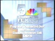 NBC 5 KXAS Dallas Texas Sign Off and On 1989 2