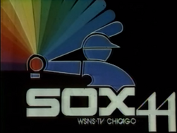 Rainbow White Sox WSNS Logo