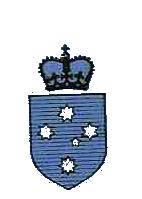 Victoria Rugby Union vintage logo