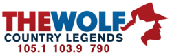 WVWF 105.1-W280FN 103.9-WBWR 790 The Wolf