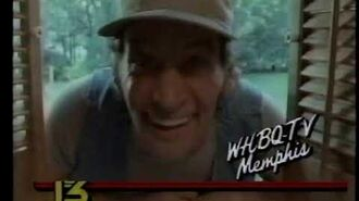 1985 WHBQ TV ID with Jim Varney as Ernest