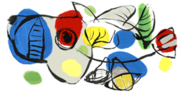 90th Birthday of Karel Appel (25.04.11)