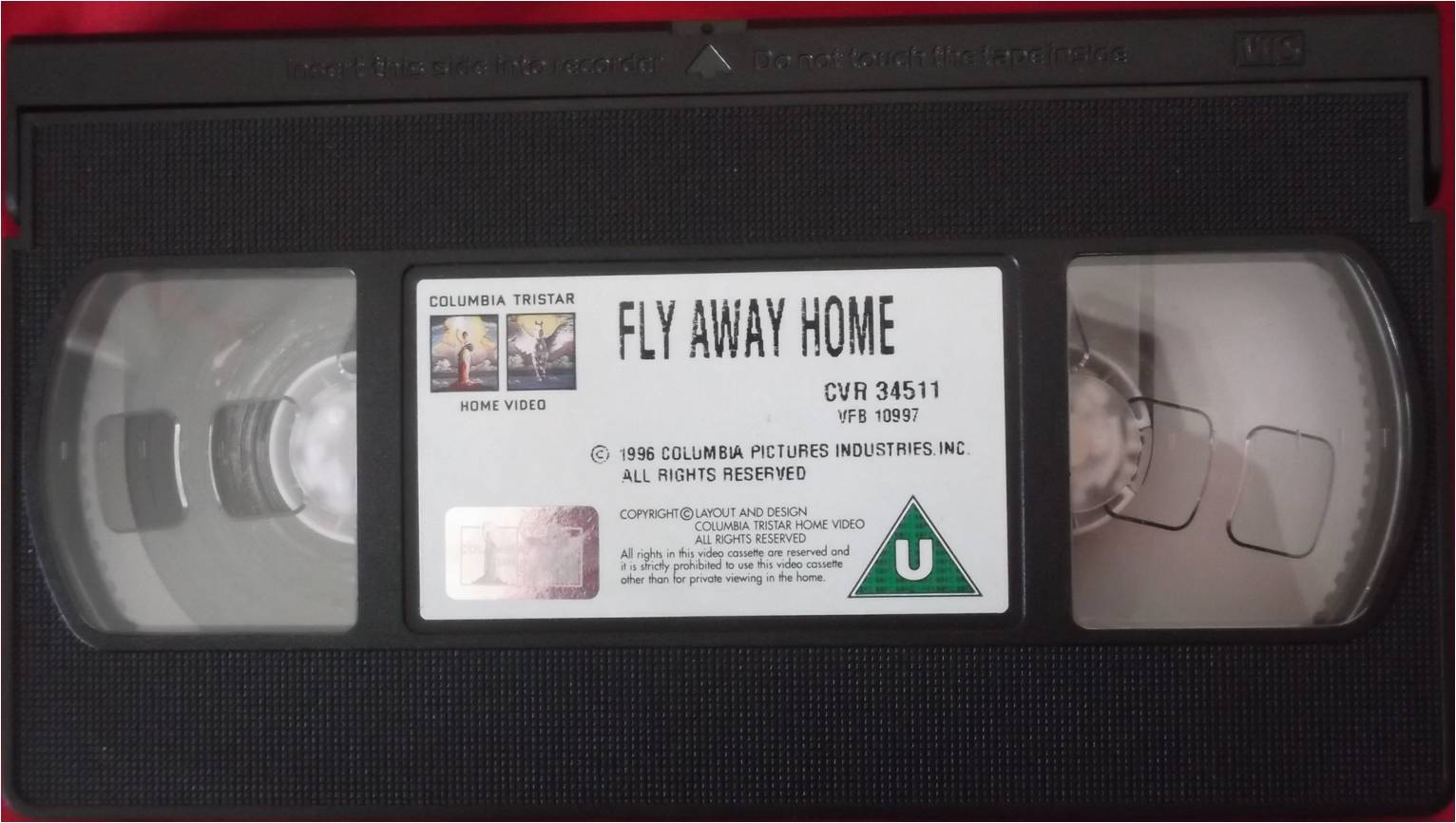 Columbia TriStar Home Video 1997 VHS Tape Example