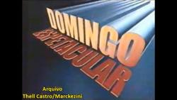 Domingo Espetacular 2004 vinheta