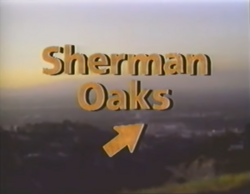 Sherman Oaks title card