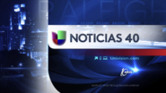 Wuvc noticias univision 40 10 anos package 2013