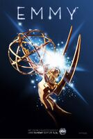 64th Primetime Emmy Awards 2012 Poster