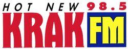 98.5 KRAK FM