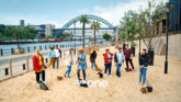 BBC One Sausage Dog Walkers ident