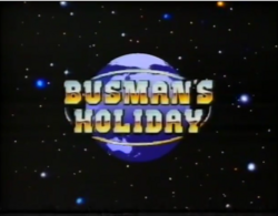 Busman's Holiday