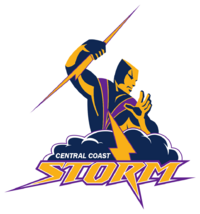 Central Coast Storm logo