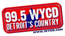 Detroit's 99.5 WYCD logo