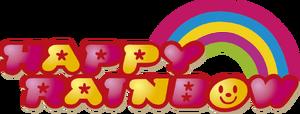 Happy rainbow logo
