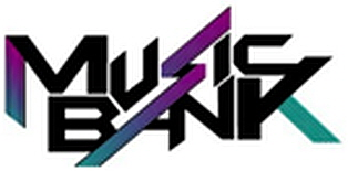 Music Bank 2019 logo English ver