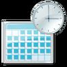 Reloj windows control panel
