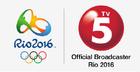 TV5 Rio 2016 Logo