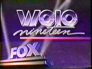 WOIO FOX Nineteen 1986