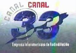 Canal 33 Uhf 1992