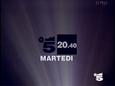 Canale 5 - dark blue 1994