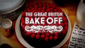 The Great British Bake Off title