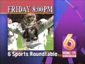 WBRC Channel 6 Sports Roundtable preview for the SEC Championship in 1993