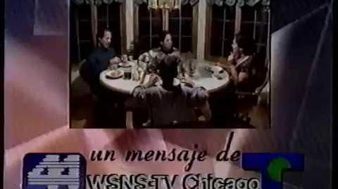 "WSNS Channel 44 - ""Conversation with Family"" (Station ID, 1995)"