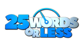 25 Words or Less TV logo
