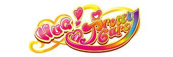 HUGtto! Pretty Cure logo (English)