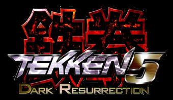 Tekken 5 Dark Resurrection Logopedia Fandom